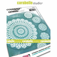Carabelle Studio Textured Coasters: Crochet Doilies by Alexis