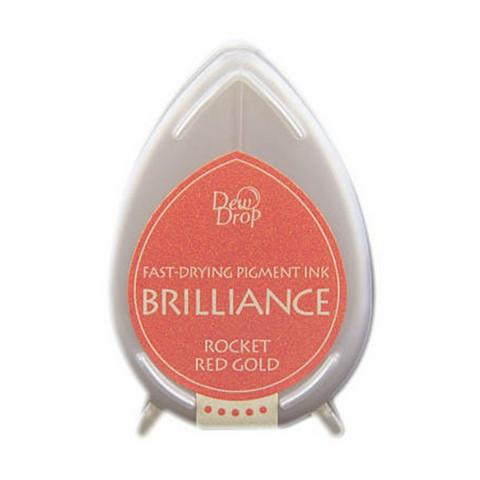 Brilliance Dew Drop : Rocket Red Gold - mustetyyny