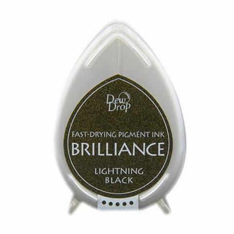 Brilliance Dew Drop : Lightning Black - mustetyyny