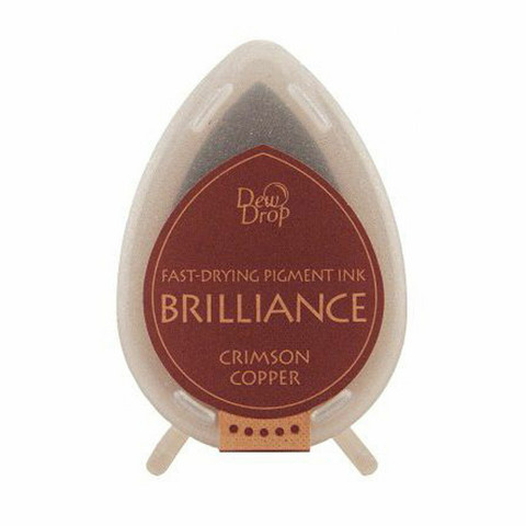 Brilliance Dew Drop : Crimson Copper - mustetyyny