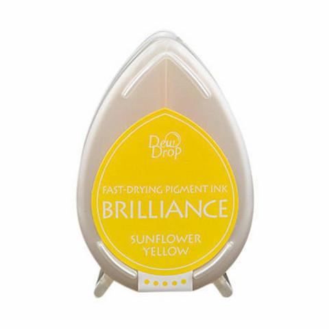 Brilliance Dew Drop : Sunflower Yellow - mustetyyny