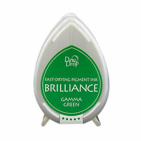 Brilliance Dew Drop : Gamma Green - mustetyyny