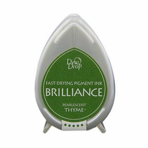 Brilliance Dew Drop : Pearlecent Thyme - mustetyyny
