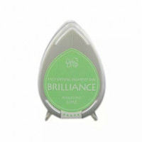 Brilliance Dew Drop : Pearlecent Lime - mustetyyny