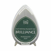 Brilliance Dew Drop : Pearlecent Ivy - mustetyyny