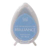 Brilliance Dew Drop : Pearlecent Sky Blue - mustetyyny