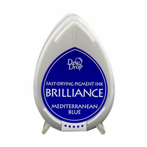 Brilliance Dew Drop : Mediterranean Blue - mustetyyny
