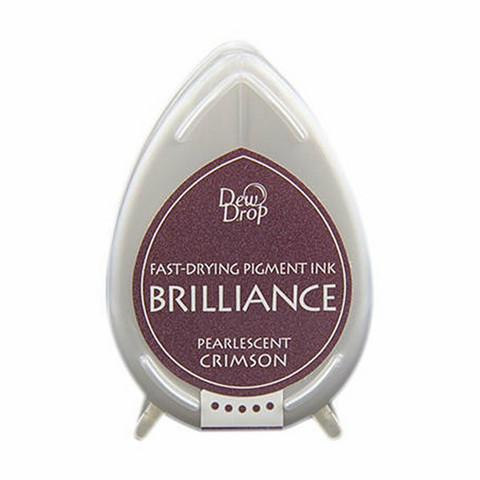 Brilliance Dew Drop : Pearlecent Crimson - mustetyyny
