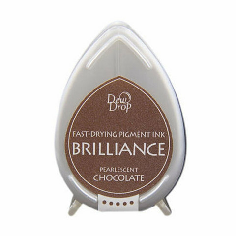 Brilliance Dew Drop : Pearlecent Chocolate - mustetyyny