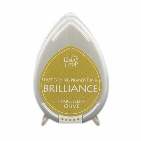 Brilliance Dew Drop : Pearlecent Olive - mustetyyny