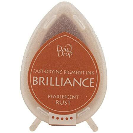 Brilliance Dew Drop : Pearlecent Rust - mustetyyny