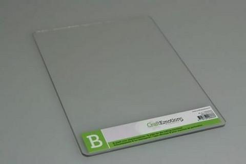 Craft Emotions B Plate (Cuttlebug yhteensopiva)