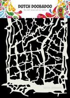 Dutch Doobadoo: Grunge Lines A5 -sabluuna