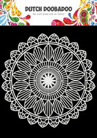 Dutch Doobadoo: Mandala 15x15 cm -sabluuna