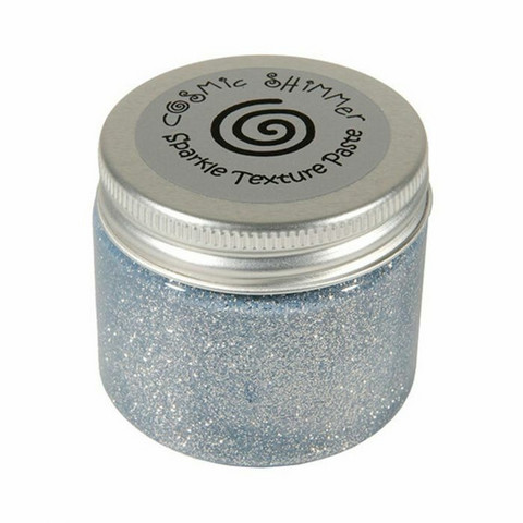 Cosmic Shimmer Sparkle Texture Paste: Silver Moon 50 ml