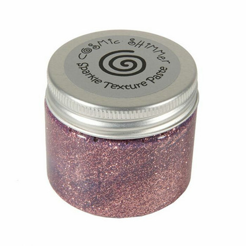 Cosmic Shimmer Sparkle Texture Paste: Pink Blush 50 ml