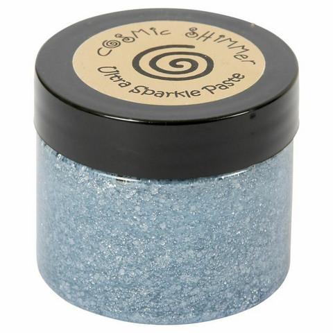 Cosmic Shimmer Ultra Sparkle Paste:  Blue Gunmetal 50 ml
