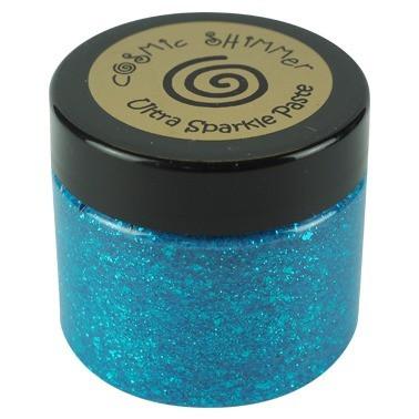 Cosmic Shimmer Ultra Sparkle Paste:  Turquoise 50 ml