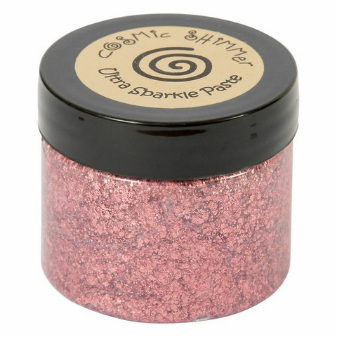Cosmic Shimmer Ultra Sparkle Paste:  Apple Rose Copper 50 ml