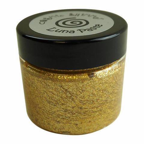 Cosmic Shimmer Luna Paste:  Moonlight Gold 50 ml