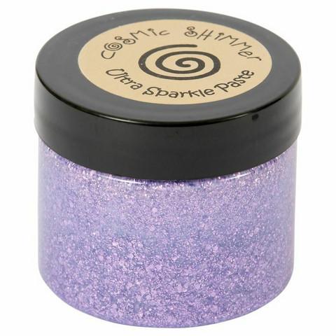 Cosmic Shimmer Ultra Sparkle Paste:  Lavender 50 ml