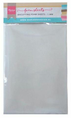 MD Double-Sided A5 Foam Sheets 1mm