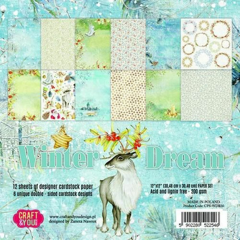 Craft & You Design: Winter Dream 12x12 - paperikokoelma
