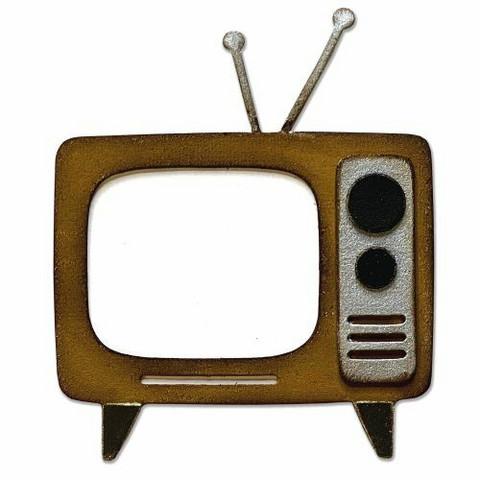 Sizzix Bigz: Retro Tv -stanssi