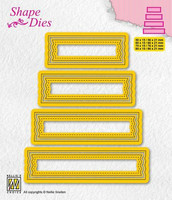 Shape Dies: Set of 4 tags #2 - stanssisetti
