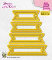 Shape Dies: Set of 4 tags #1 - stanssisetti