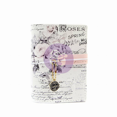 Prima Marketing: Pretty Pale Traveler's Journal Passport - kannet