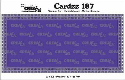 Crealies Cardzz: Slimline G - stanssisetti