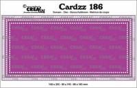 Crealies Cardzz: Slimline F - stanssisetti
