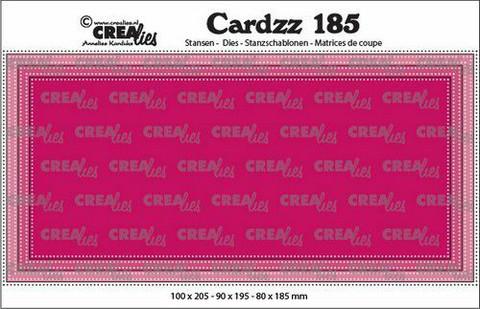 Crealies Cardzz: Slimline E - stanssisetti