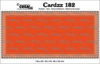 Crealies Cardzz: Slimline B - stanssisetti