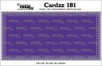 Crealies Cardzz: Slimline A - stanssisetti