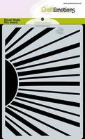 Craft Emotions: Sun Rays  A6 -sabluuna