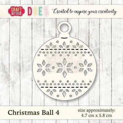 Craft & You: Christmas Ball 4 -stanssi