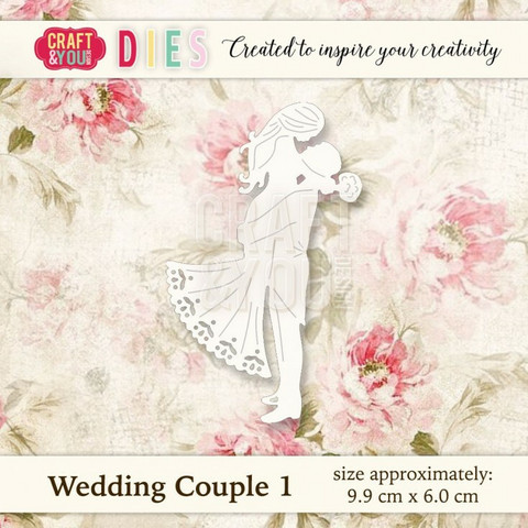 Craft & You: Wedding Couple -stanssi