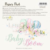 Lemoncraft: Baby Boom 6x6 -paperilehtiö
