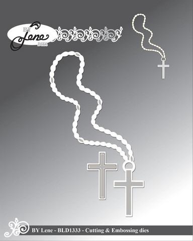 By Lene: Cross  -stanssisetti