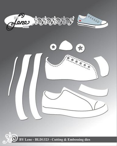 By Lene: Shoe / Sneaker  -stanssisetti