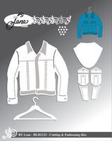 By Lene: Jacket  -stanssisetti
