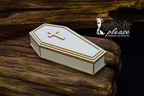 SnipArt: Witch Please - 3D Coffin  - leikekuviopakkaus