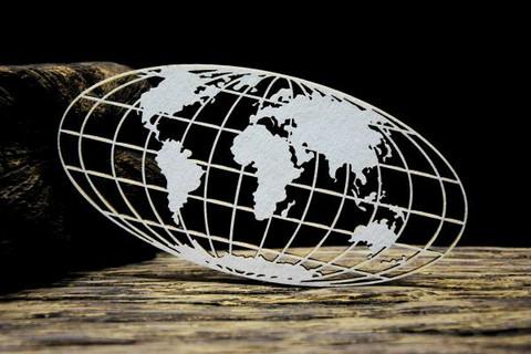 SnipArt: Up In The Air - Globe  - leikekuviopakkaus