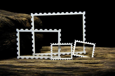 SnipArt: Up In The Air - Stamps Frames Small  - leikekuviopakkaus