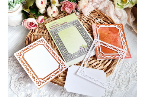 Agiart: Carved Photo Frame 7,5 x 10cm -stanssisetti