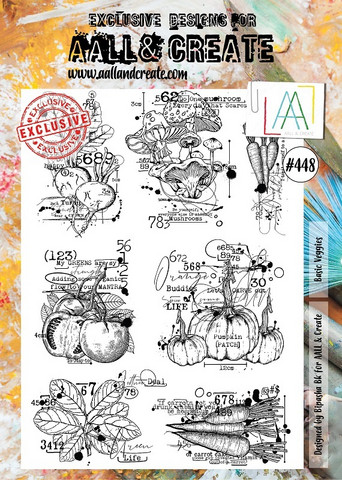 Aall & Create: Basic Veggies  #448 - leimasinsetti