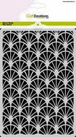 Craft Emotions: Art Deco #1 A5 -sabluuna