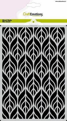 Craft Emotions: Art Deco #2 A5 -sabluuna